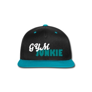 Gym Junkie Snapback - Snap-back Baseball Cap