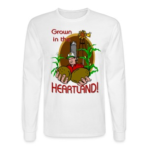 Heartland Farmer Men's Long Sleeve T-Shirt  - Men's Long Sleeve T-Shirt