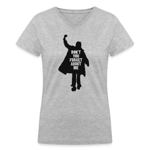 The Breakfast Club Women's V-neck T-shirt (black design) - Women's V-Neck T-Shirt