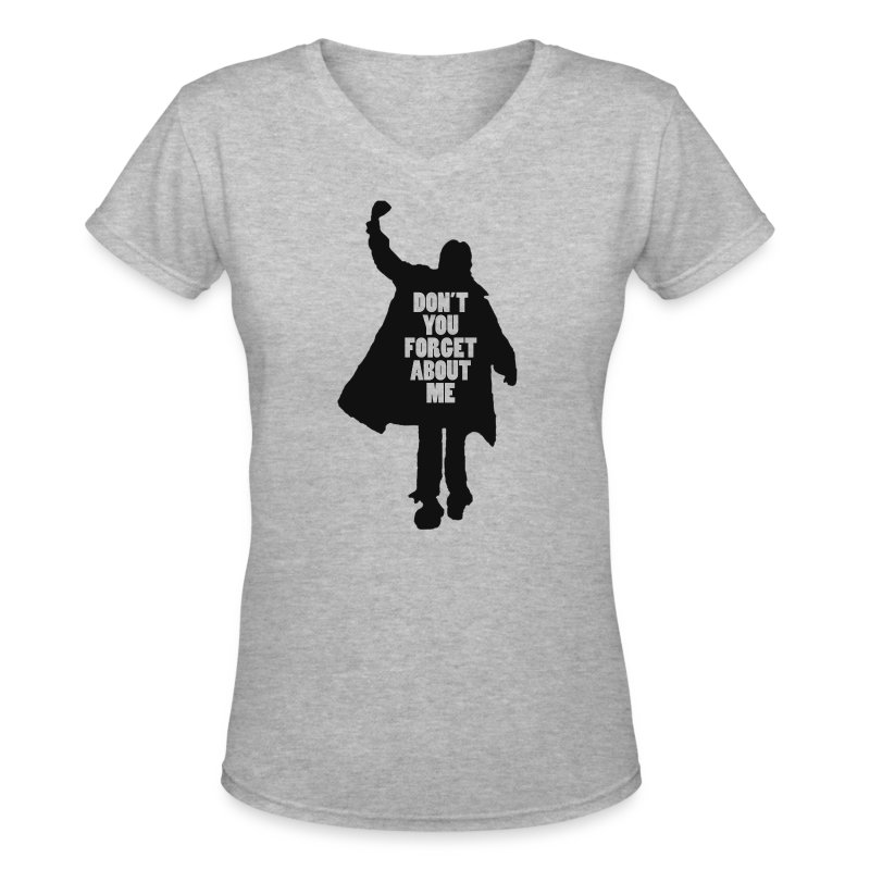 The breakfast club women 39 s v neck t shirt black design t for V neck t shirts with designs