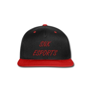 SNK ESPORTS SNAPBACK (RED) - Snap-back Baseball Cap