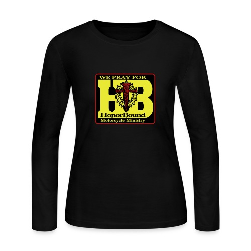 Women's HBMM Support Long Sleeve - Women's Long Sleeve Jersey T-Shirt
