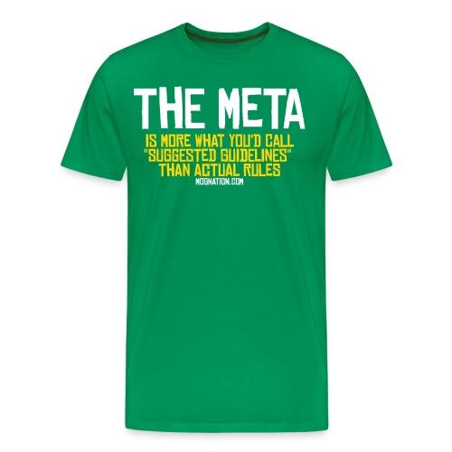 MOBA Meta Guildines T - Men's Premium T-Shirt