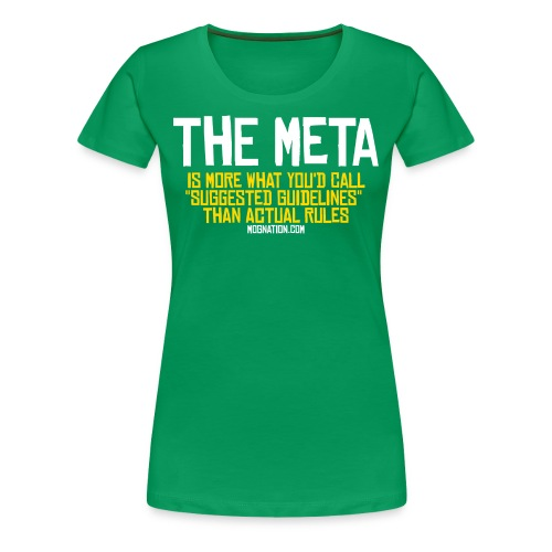 MOBA Meta Guildines T Womens - Women's Premium T-Shirt