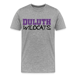 DULUTH WILDCATS1 MENS PLUS SIZE - Men's Premium T-Shirt