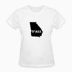 Georgia Yall Women's T-Shirts
