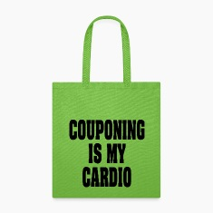 SHOPPING IS MY CARDIO SHOPPING | BEACH TOTE BAG