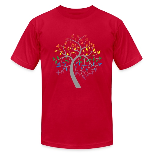 Tree of Pride - Men's Fine Jersey T-Shirt