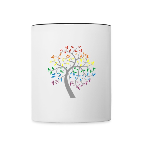 Tree of Pride - Contrast Coffee Mug