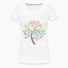 Tree of Pride Women's T-Shirts