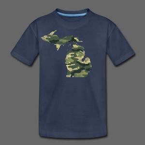 Camouflage Michigan - Kids' Premium T-Shirt