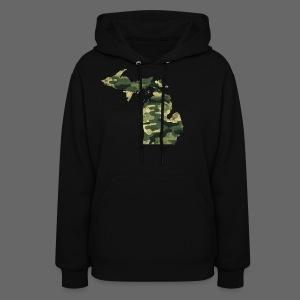 Camouflage Michigan - Women's Hoodie