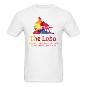 Lobo Camp Shirt 2014 | Mens White - Men's T-Shirt