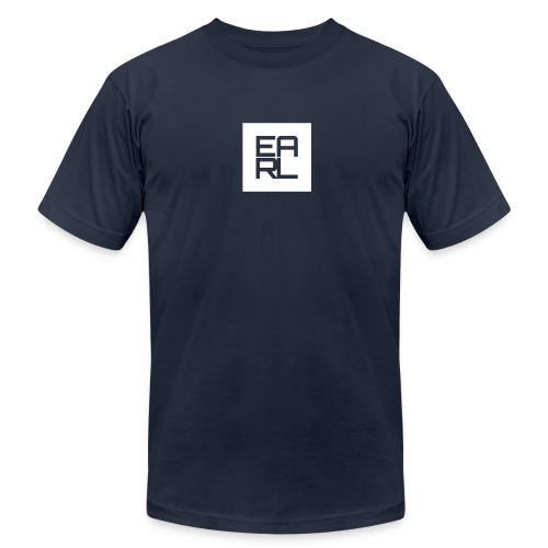 Earl Logo (White) - Men's  Jersey T-Shirt