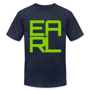Earl Logo (Green) - Men's Fine Jersey T-Shirt
