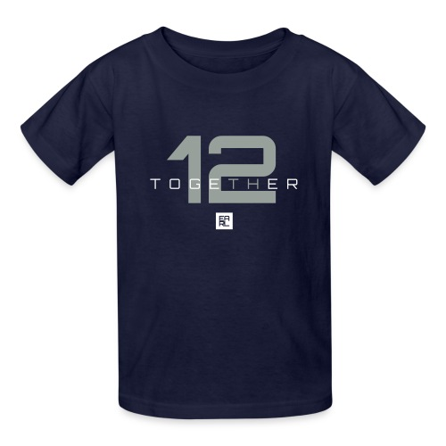 Together Kids (Gray/White) - Kids' T-Shirt