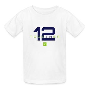 Together Kids (Navy/Green) - Kids' T-Shirt