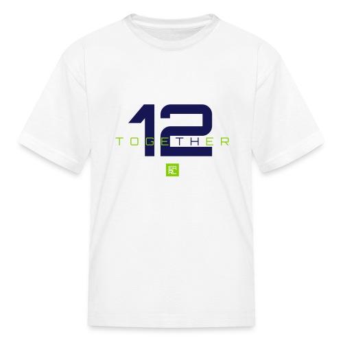 Together Kids (Navy/Green) - Kids' T-Shirt