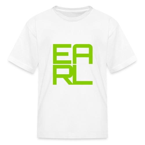 Earl Logo Kids (Green) - Kids' T-Shirt