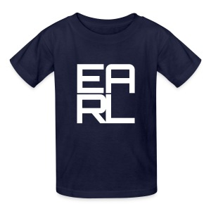 Earl Logo Kids (White) - Kids' T-Shirt