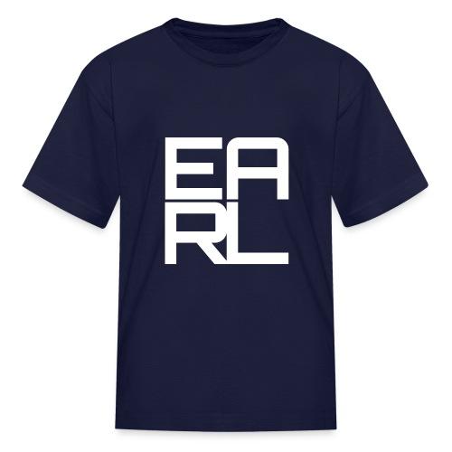 Earl Logo Kids (White) - Kids' T-Shirt