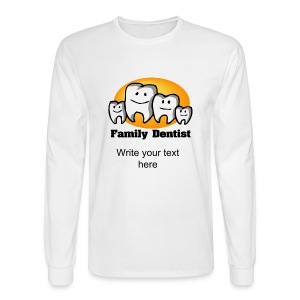 Family Dentist Men's Long Sleeve T-Shirt - Men's Long Sleeve T-Shirt