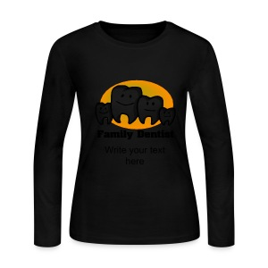 Family Dentist Women's Long Sleeve T-Shirt - Women's Long Sleeve Jersey T-Shirt