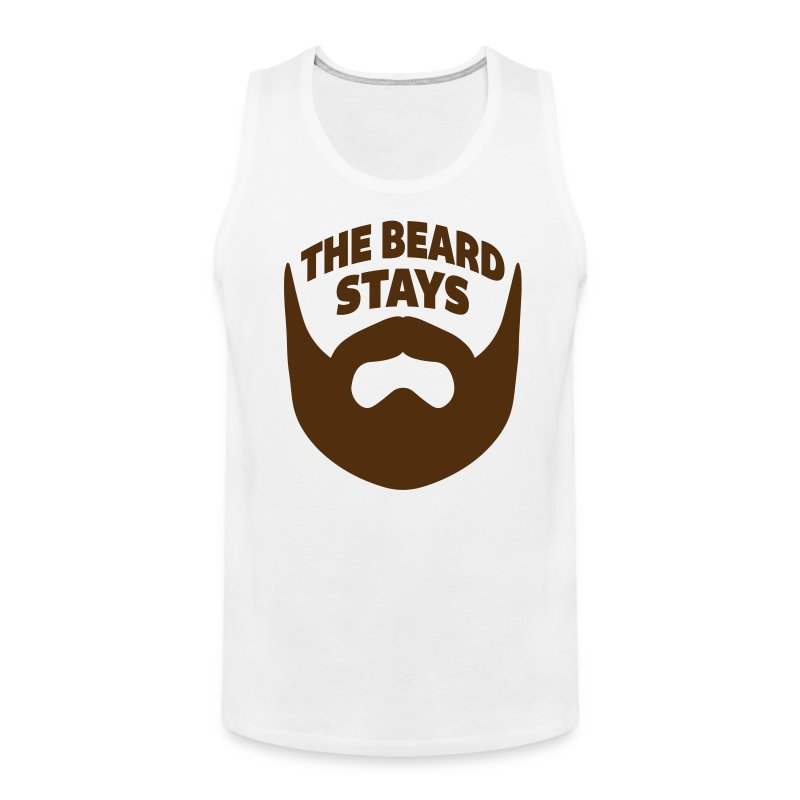 thebeardstays - Men's Premium Tank