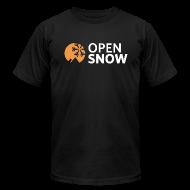 T-Shirts ~ Men's T-Shirt by American Apparel ~ Men's Black T-Shirt
