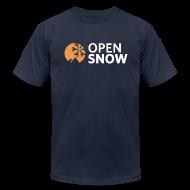 T-Shirts ~ Men's T-Shirt by American Apparel ~ Men's Navy Blue T-Shirt
