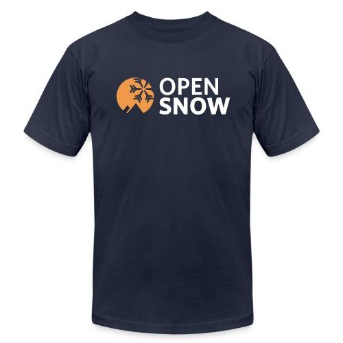 Men's Navy Blue T-Shirt - Men's Fine Jersey T-Shirt