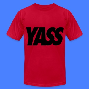 Yass T-Shirts - Men's T-Shirt by American Apparel