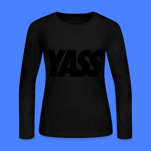 Yass Long Sleeve Shirts - Women's Long Sleeve Jersey T-Shirt