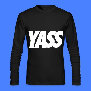 Yass Long Sleeve Shirts - Men's Long Sleeve T-Shirt by Next Level