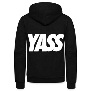 Yass Zip Hoodies & Jackets - Unisex Fleece Zip Hoodie by American Apparel