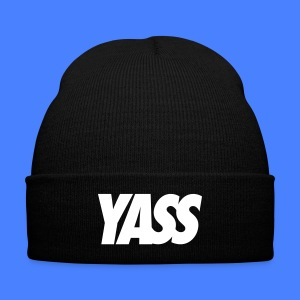 Yass Caps - Knit Cap with Cuff Print