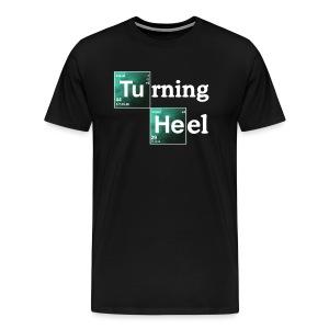 Turning Heel (Men, 3XL-4XL) - Men's Premium T-Shirt