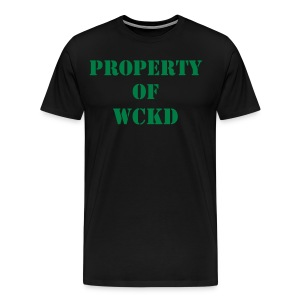 PROPERTY OF WCKD MAZE RUNNER - Men's Premium T-Shirt