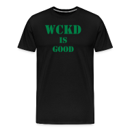 T-Shirts ~ Men's Premium T-Shirt ~ PROPERTY OF WCKD MAZE RUNNER
