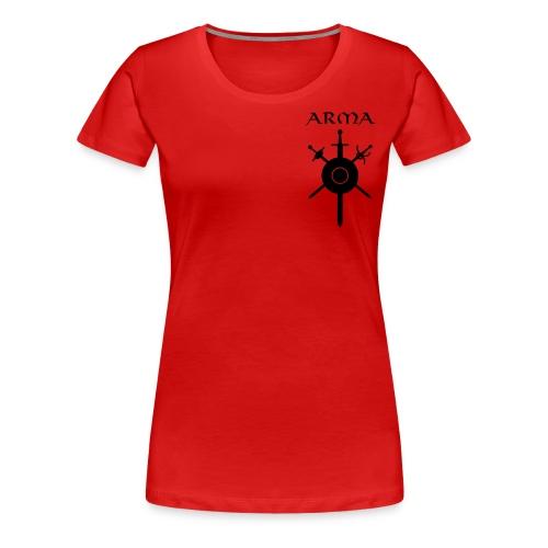 Women's/Unisex Zippered Hoodie - Women's Premium T-Shirt