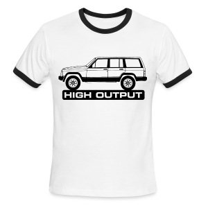 Jeep XJ High Output - Men's Ringer T-Shirt