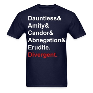 DIvergent facions shirt 2 - Men's T-Shirt