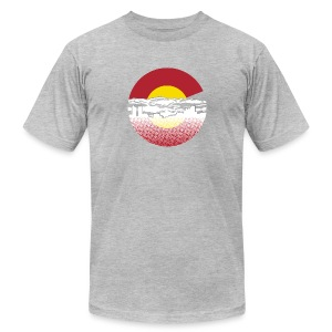 Denver - Men's T-Shirt by American Apparel