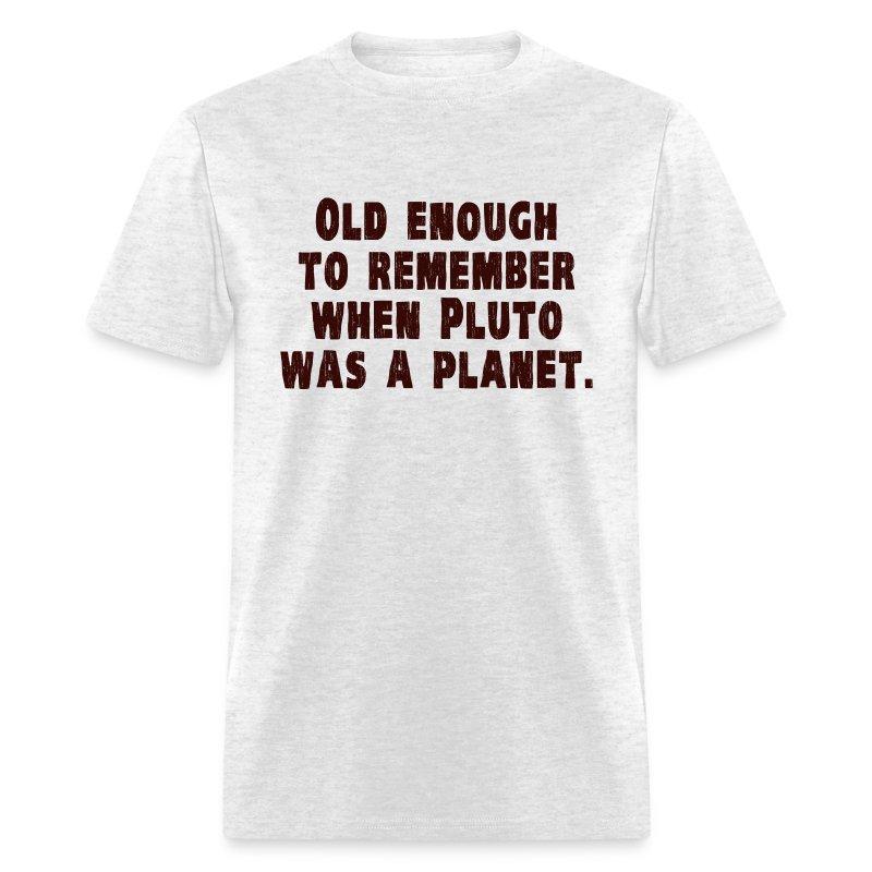 pluto planet t shirt-#13