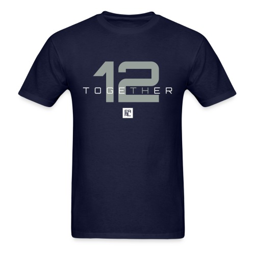 Together Easy Fit (Gray/White) - Men's T-Shirt