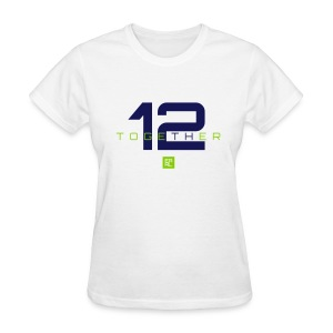 Together Easy Fit (Navy/Green) - Women's T-Shirt