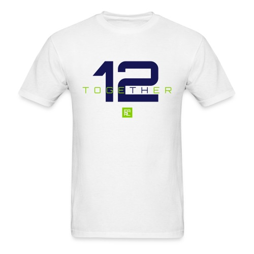 Together Easy Fit (Navy/Green) - Men's T-Shirt