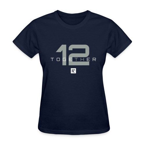 Together Easy Fit (Gray) - Women's T-Shirt
