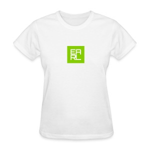 Earl Logo Easy Fit (Green) - Women's T-Shirt