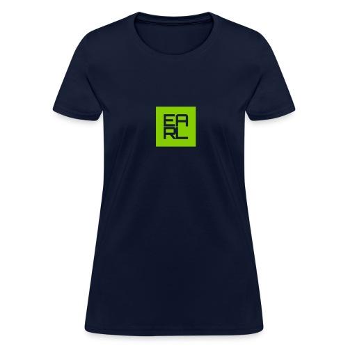 Earl Logo Easy Fit (Green) - Women's T-Shirt
